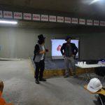 Con entretenido show de magia se llevó a cabo la Campaña de Seguridad en Obra Hortensias